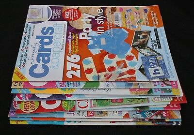 Simply Cards & papercraft Card Making & papercraft Magazines x 9