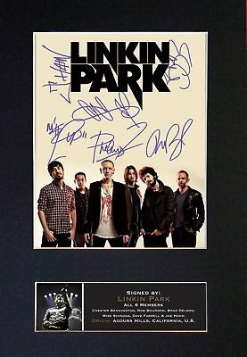 LINKIN PARK - Signed Autographed / Photograph + FREE WORLDWIDE SHIPPING