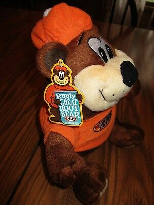 A&w Root Bear Plush Advertising Great Rooty Root Bear