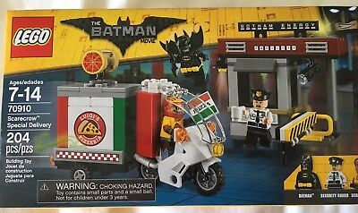 LEGO Batman Movie Special Delivery Security Guard Minifigure 70910