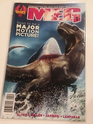 Meg #1 Motion Movie Dabel Brothers Comic 1st Print 2018 NM