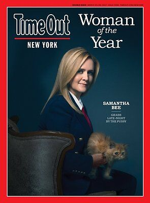 samantha bee time out new york magazine woman of the year march 15