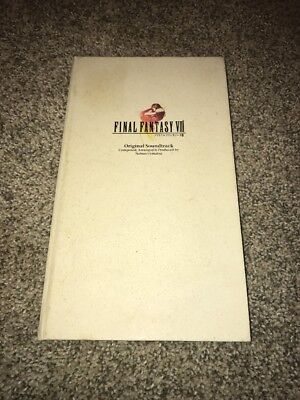 Final Fantasy VIII 8 original soundtrack limited edition Japan