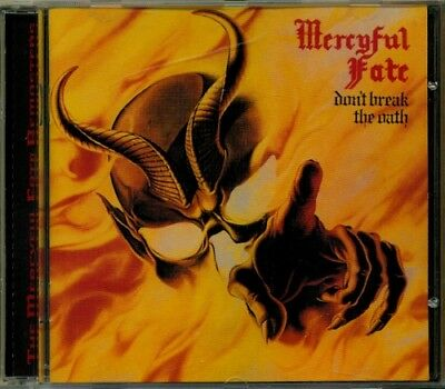 Mercyful Fate - don't break the oath  RARE OOP 1997 Gold Disc Remaster CD (New!)