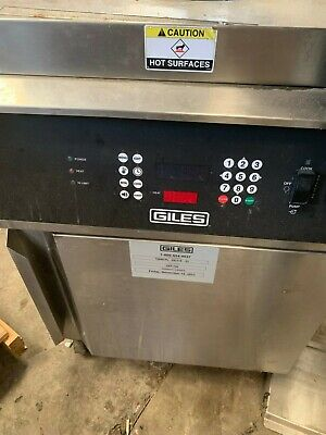 GILES GEF-720  70lbs.ROUND KETTLE FRYER with BASKET LIFT W/ FILTER SYSTEM 208/3