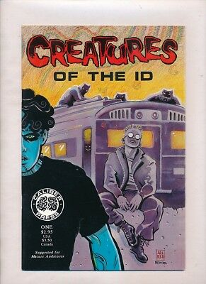 1990 CREATURES OF THE ID #1 Caliber 1st Frank Einstein MADMAN Mike Allred Fine++