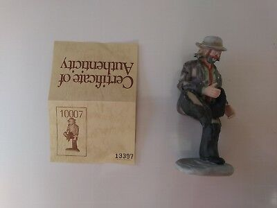 "'EMMETT KELLY, JR'- #10007 - ""A HOLE IN THE SOLE""- by FLAMBRO- w/signed initials"