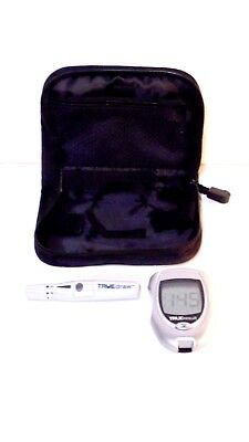 TrueResult Nipro Diagnostics Test Meter With TrueDraw Lancing Device + Soft Case