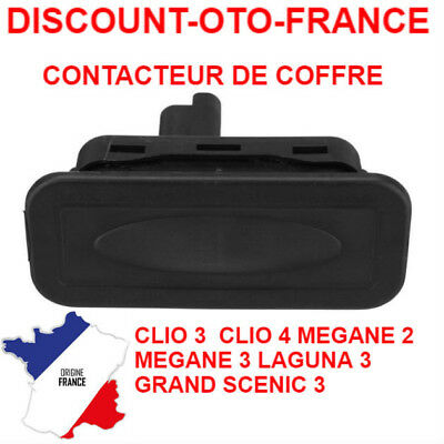 bouton coffre megane scenic renault 1999 2003 serrure. Black Bedroom Furniture Sets. Home Design Ideas