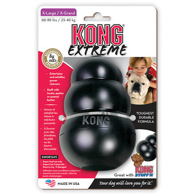 Company of Animals EXTREME Kong Rubber BLACK Dog Toy Small Medium Large XL XXL