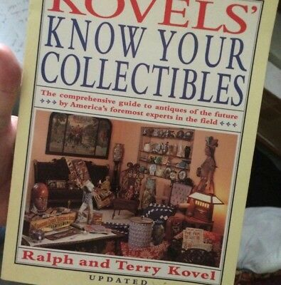 Kovels Know Your Collectibles Information Guide