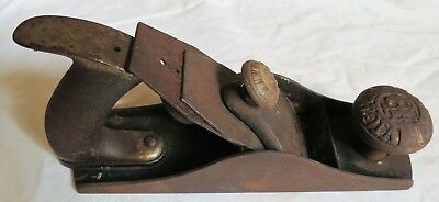 Bailey Victor B Plane Cast Iron Smooth #4 Size Old Vtg Antique