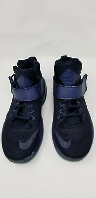 check out 591a4 5b1e6 Nike Kwazi Basketball Shoes Midnight Navy 844839-440 Sneakers Mens Size 10