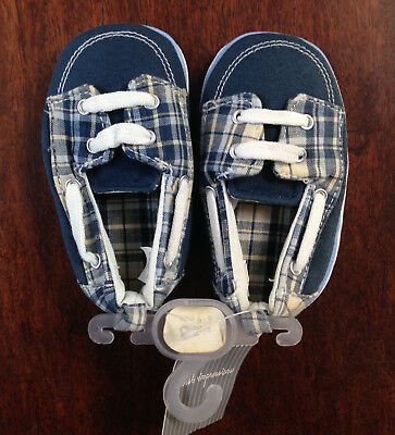 New First Impressions Baby Boys Crawling Stages Shoes, 3 months