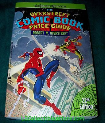Official Overstreet Comic Price Guide 22nd Edition