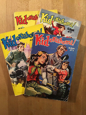 KID OKLAHOMA - Collection complète - 1953/54 - Sagedition - TBE