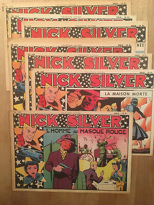 Nick Silver - 7 Récits complets - Collection Victoire - Sagedition - 1949 - TBE