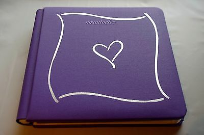Creative Memories Trumph 7x7 Purple Album Coverset WITH PAGES BNWOP
