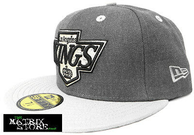 New Era Nhl Heather Top 59Fifty Fitted Cap - Los Angeles, La, Kings
