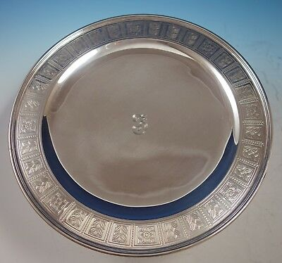 "Palmette by Tiffany & Co. Sterling Silver Pedestal Serving Plate 12"" (#2875)"