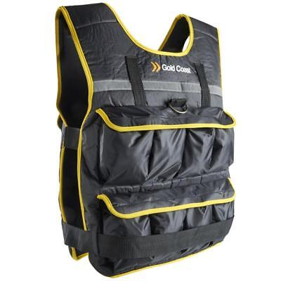 Weight Vest & Sand Filled Bags With Removable Iron Resistance Training Gear 20Kg
