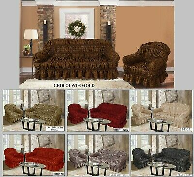 Jacquard Sofa Covers Available in 3 Sizes (New Arrival) Universal Size