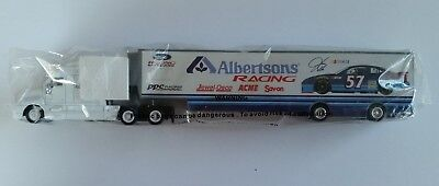 Collectible Albertsons Racing Truck Die Cast Toy New in Package