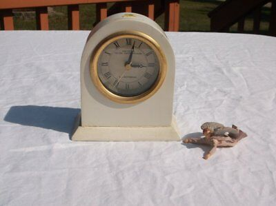 Rare 1995 South Pacific Voyages S.s. Rotterdam Analog Clock Aa Battery Works