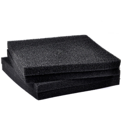 Aquarium Black Biochemical Filter Sponge Foam Media Pad Fish Tank Filtration New