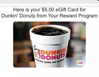 Where can i buy $5 dunkin donuts gift cards