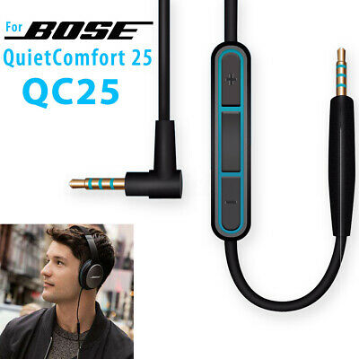 Replacement Audio Cable Cord For Bose QuietComfort QC25 QC35 Headphones with