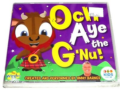 cd-album, The Wiggles / Jimmy Barnes - Och Aye The G'Nu, ABC For Kids, NEW