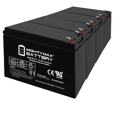 Mighty Max 12V 7.2AH SLA Battery for Altronix EFLOW102N 12V Charger