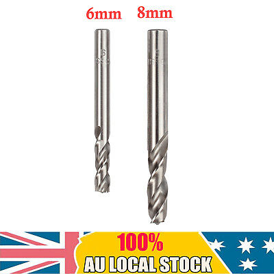 2PCS High Speed Steel Spot weld drill/remover/cutter cobalt tip 6mm and 8mm AU