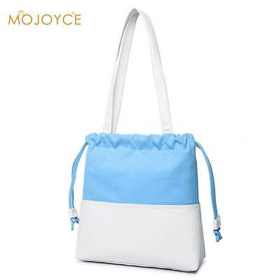 Fashion Patchwork Canvas Women Shoulder Bag Casual Large Capacticy Shopping Bag