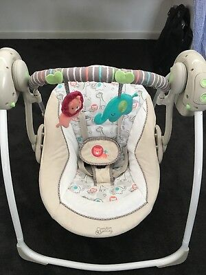 Ingenuity Soothe N Delight Portable Swing