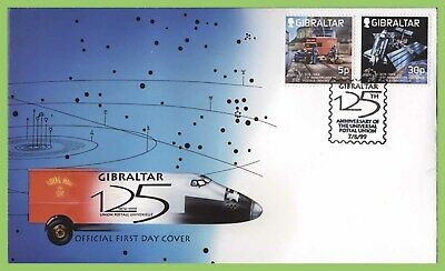 Gibraltar 1999 125th Anniv of U.P.U set on First Day Cover