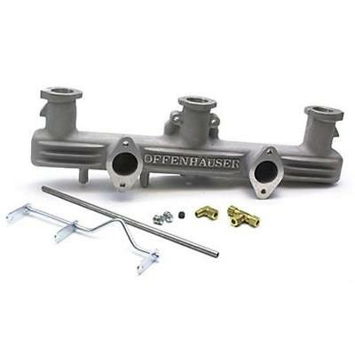 Offenhauser Chevy 216 235 261 Inline Straight-6 Dual Carb Intake Manifold