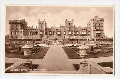 A6124cgt UK Windsor Castle East Terrace vintage postcard