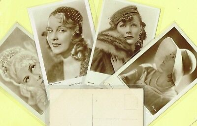 ROSS VERLAG - 1930s Film Star Postcards produced in Germany #5216 to #5310