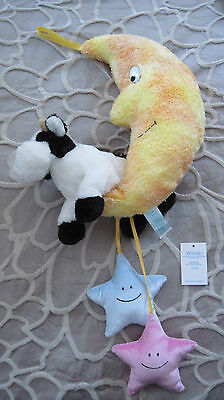 Madame Alexander Cow Jumped Over the Moon Baby Nursery Ceiling Hanging Mobile