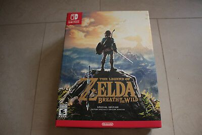 Legend of Zelda: Breath of the Wild Special Edition Nintendo Switch