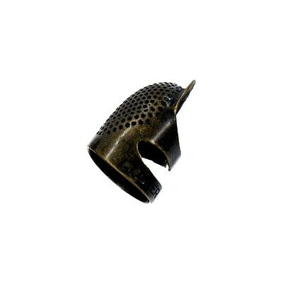 Clover Metal Open-sided Thimble, Medium - Thimble Open Sided