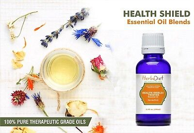 Essential Oil Blends HEALTH SHIELD THIEVES OIL BLEND Natural Therapeutic Oils