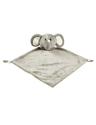 Personalised Baby Comforter snuggle Blanket, Cubbies ELEPHANT , Baby birth Gift