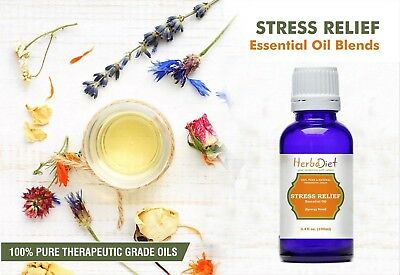 Essential Oil Blends STRESS RELIEF OIL BLEND Pure Natural Therapeutic Grade Oils