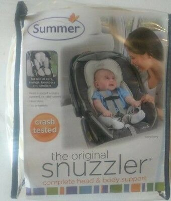 Summer Infant Snuzzler Infant Support for Car Seats and Strollers - Ivory