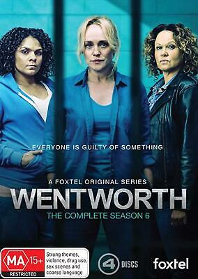 Wentworth: Season 6 - DVD Region 4 Free Shipping!