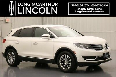Lincoln MKX SELECT FWD 3.7 V6 6 SPEED HEATED BLACK LEATHER REVEL AUDIO YNC3 APPLE CARPLAY TOUCH SCREEN HEATED LEATHER REVEL AUDIO