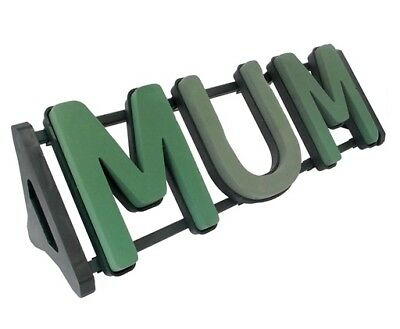 MUM Floral Foam Funeral Tribute Frame Comes with Stand Premier Florist Foam